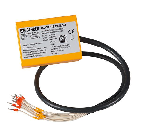 绝缘监视仪,用于监视防护等级为IP65的移动发电机