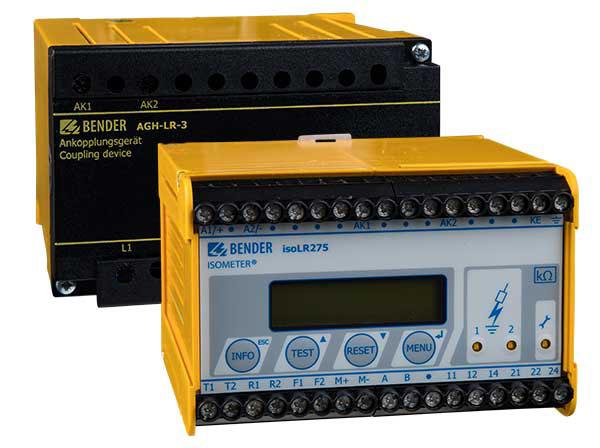 ISOMETER® isoLR275 + AGH-LR