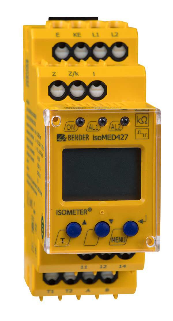 ISOMETER® isoMED427P-CX