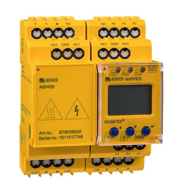 ISOMETER® isoPV425 + AGH420